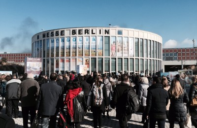 ITB Berlin 2015 busy entrance