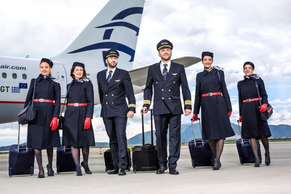 Aegean Rolls Out New Staff Uniforms Gtp Headlines