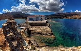 Andros Island Cyclades Greece