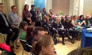 The Aristotle Mountain Experience presentation at London's Hellenic Hall in the UK.
