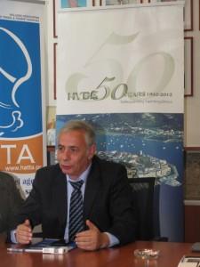 George Kollintzas, president of the Hellenic Yacht Brokers Association (HYBA). Photo © GTP