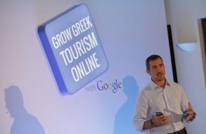 "Archive photo of ""Grow Greek Tourism Online"" presentation on Crete. Photo source: creteplus.gr"