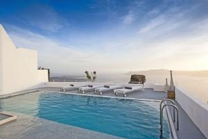 Grace Santorini-Villa Swimming Pool