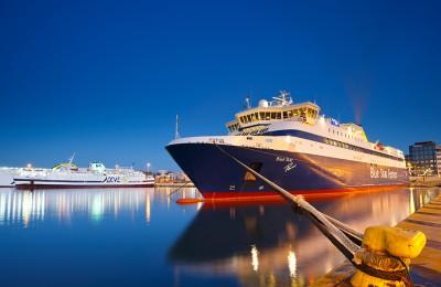Greece by Ferry Piraeus port