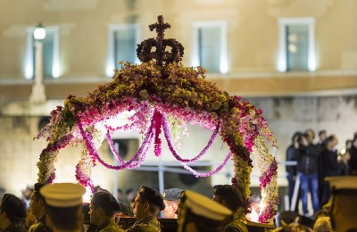 Greek Orthodox Easter - Epitaphios