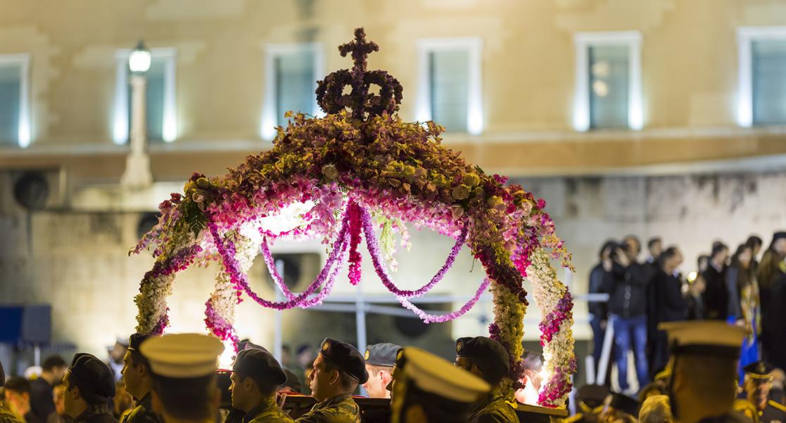 Greek Orthodox Easter - Epitaphios