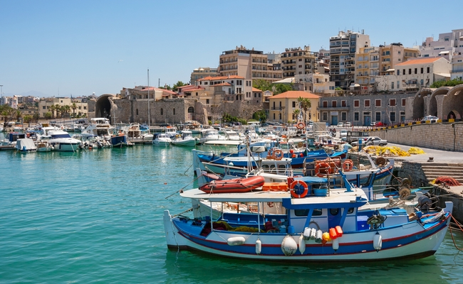 Heraklion, Crete. Photo: © Andrei Nekrassov / Shutterstock
