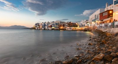 Mykonos Island Cyclades Greece