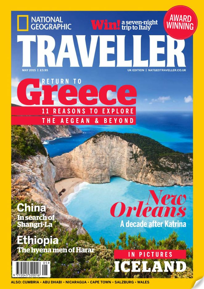 'National Geographic Traveler' Tells World to Visit Greece ...