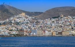 Syros Island Cyclades Greece
