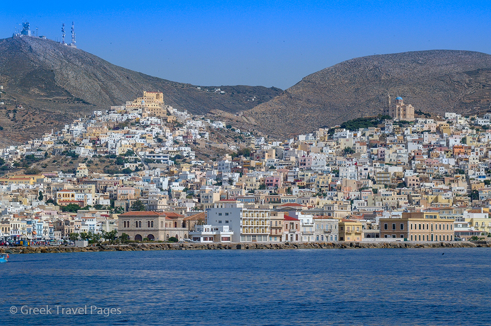 Syros Island Cyclades Greece