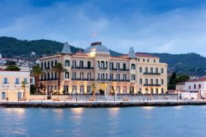 The Poseidonion Grand Hotel on Spetses.