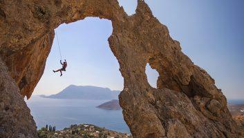 Kalymnos Island Greece - Climbing