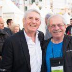 Discover the World Managing Director Dinos Frantzeskakis (right).