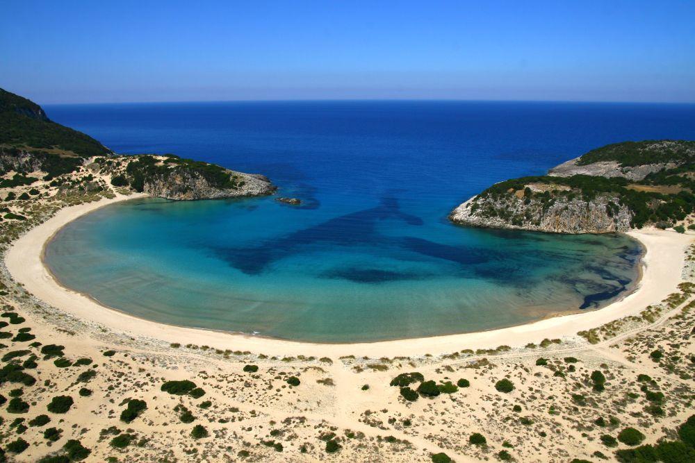 Voidokilia Beach, Costa Navarino. Photo source: TEMES