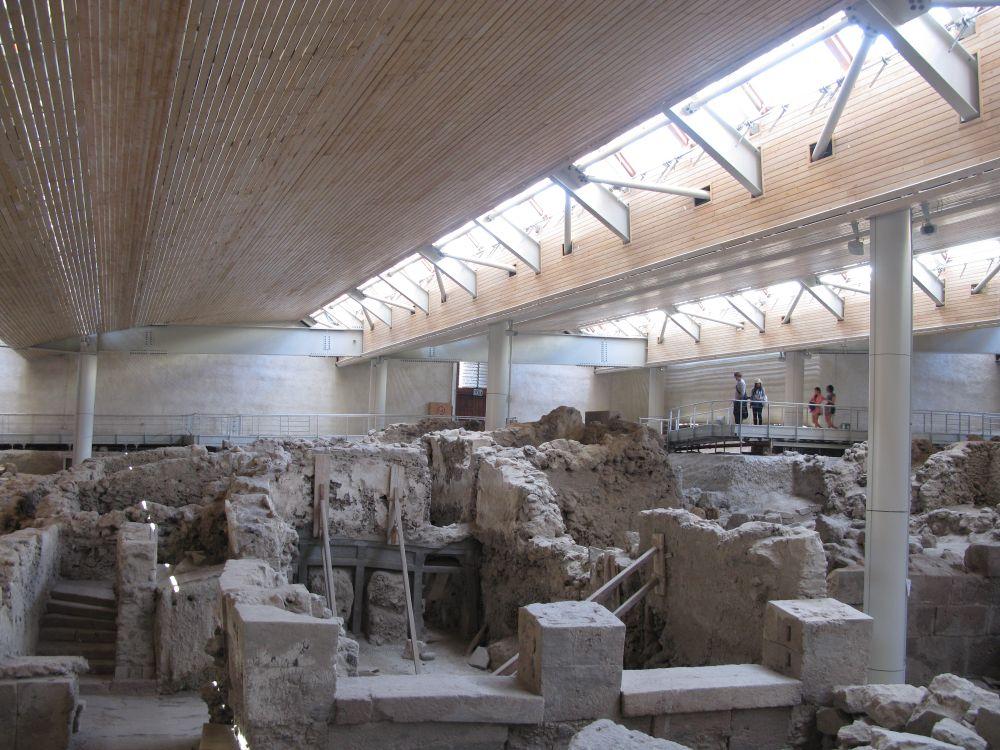 Archaeological Site of Akrotiri of Thera (Santorini). Photo © GTP