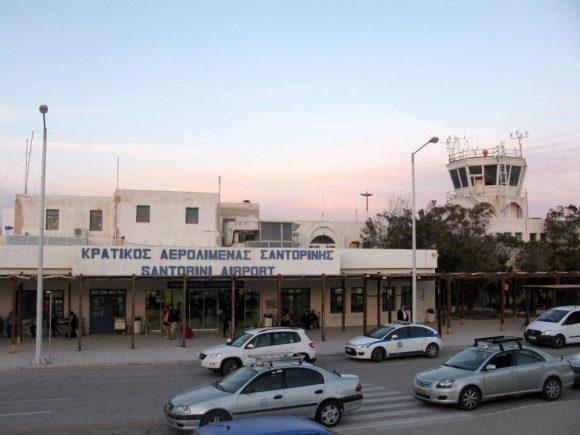 Santorini International Airport.