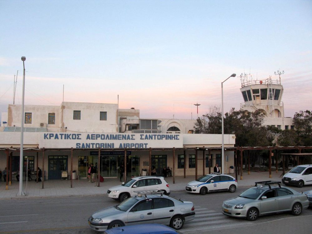 Santorini International Airport.