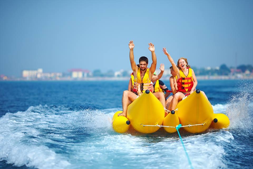 water sports boat beach myrtle recreation fun having caribbean safe ocean maryland banana sport md ship guy cruise responsible initiative