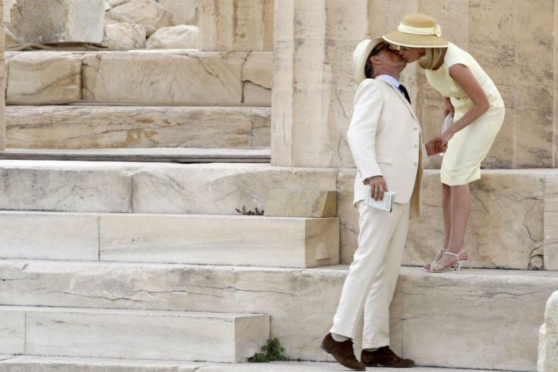 Scenes of the film 'The Two Faces of January' - starring Viggo Mortensen and Kirsten Dunst - were shot at the Acropolis and at other Greek locations