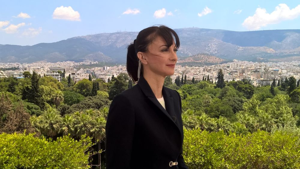 Alternate Tourism Minister Elena Kountoura
