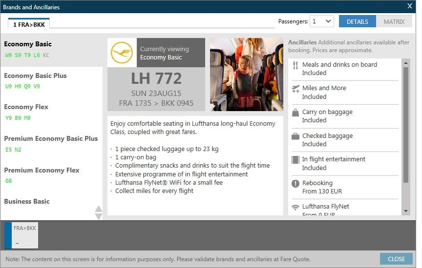 Lufthansa Rich Content and Branding_Travelport