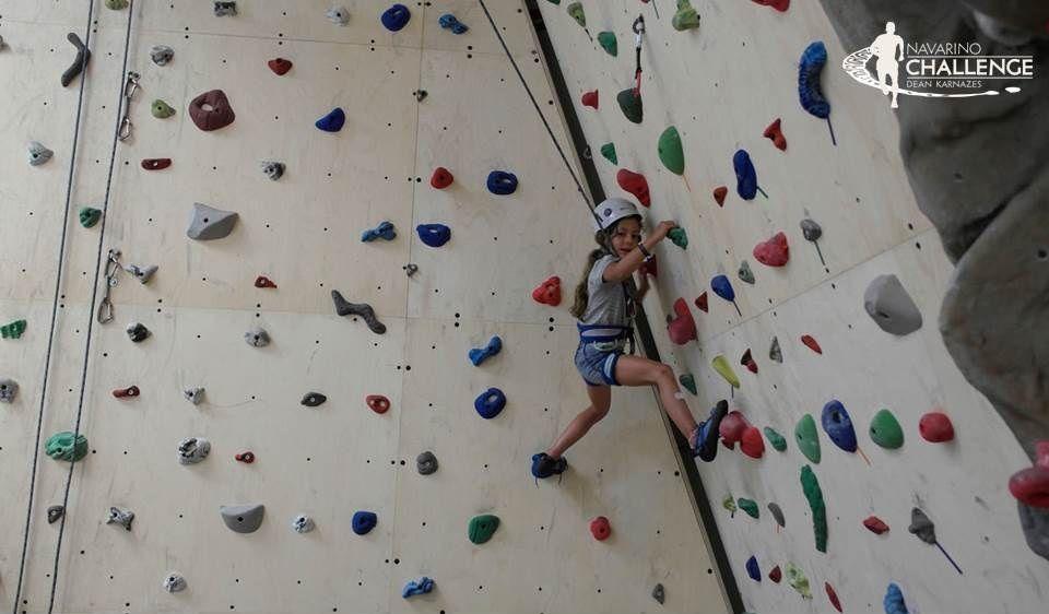 Indoor climbing, Navarino Rocks. Photo credit: Costa Navarino