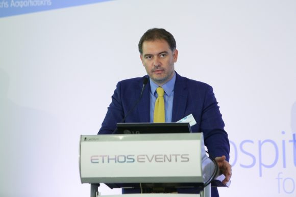 Athens-Attica Association of Hotel Owners President Alexandros Vassilikos.