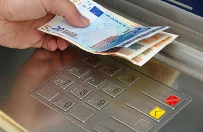 euros in ATM