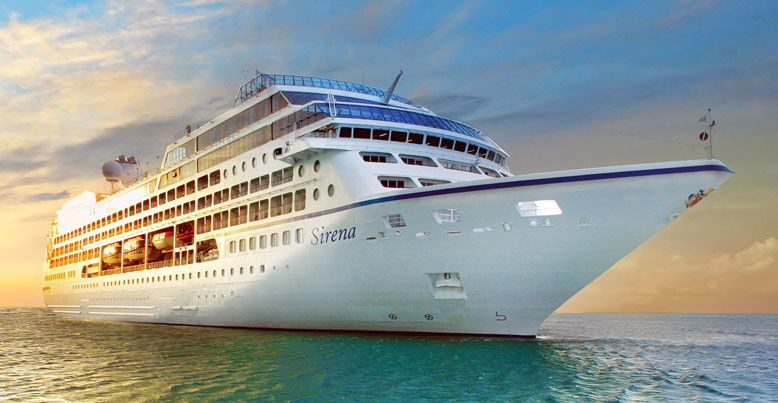 The 'Sirena' (Photo source:OceaniaCruises.com)