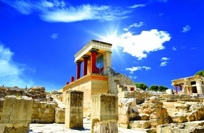 Archaeological Site of Knossos, Crete. Photo © Tanjala Gica, Shutterstock