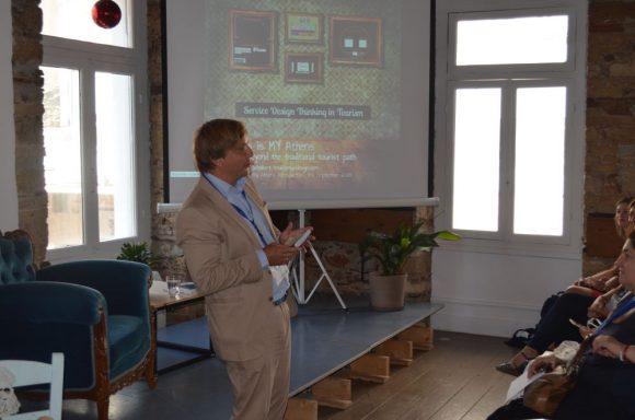 The CEO of Τourismusdesign, Martin Schobert.