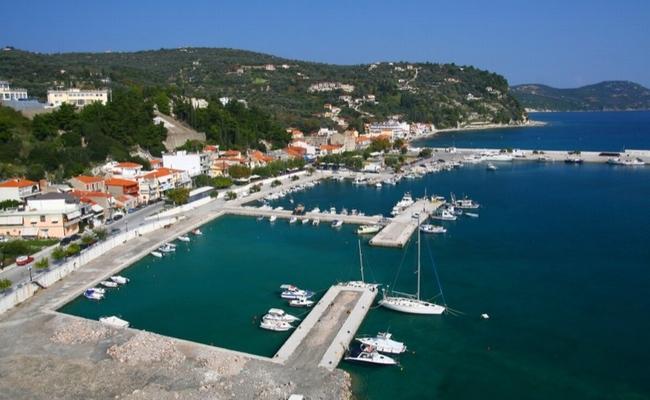 Port of Kimi in Evia.