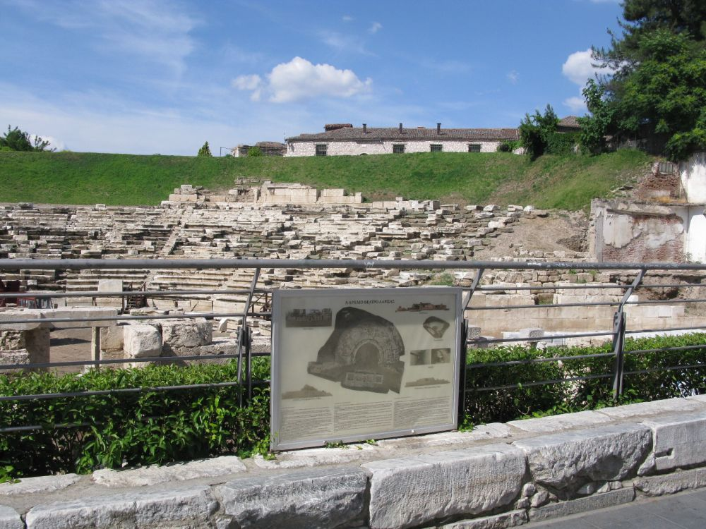 Ancient theater, Larissa.