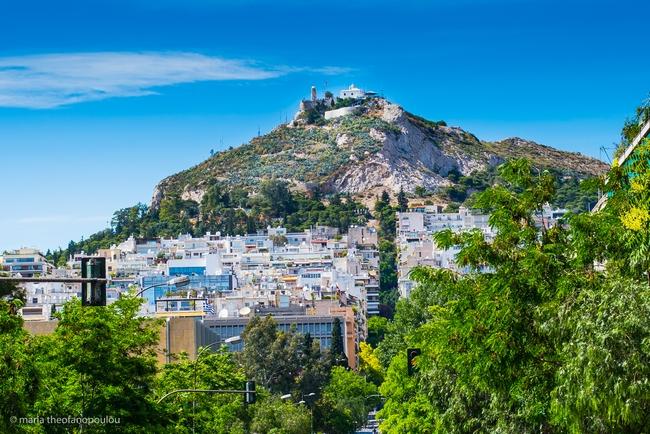 Lykavittos Hill, Athens. Photo © Maria Theofanopoulou