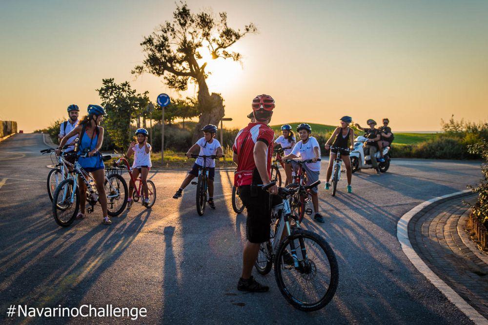 Bike ride in Voidokilia (photo by Elias Lefas).