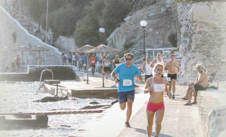 Syros City Trail Race.