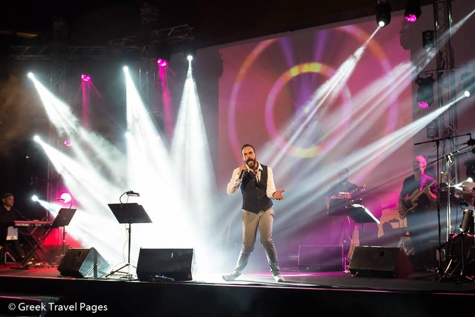 Greek singer Panos Mouzourakis