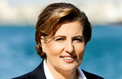Christiana Kalogirou, Governor of North Aegean Region