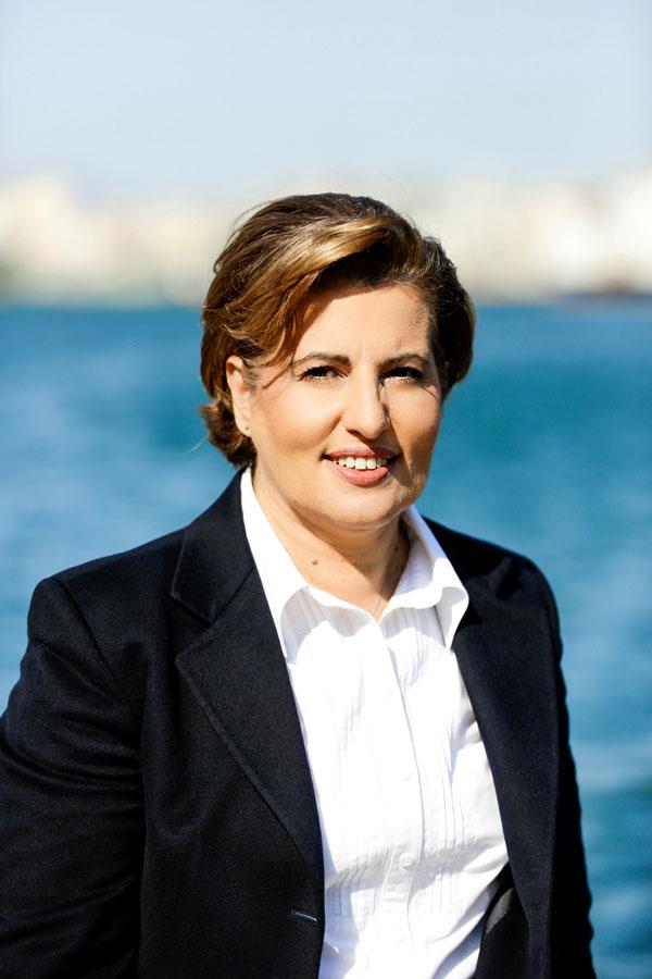Christiana Kalogirou, Governor of North Aegean Region
