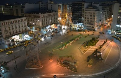Omonia Square. Photo © George A. Voudouris