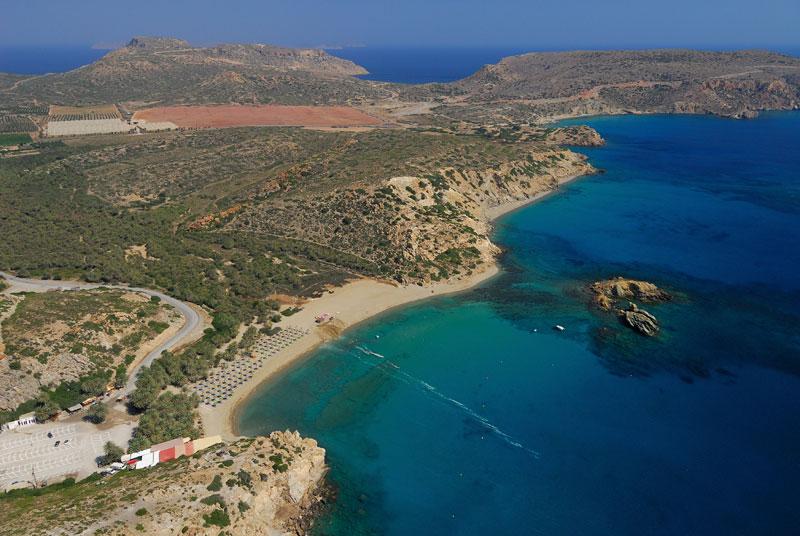 Cavo Sidero peninsula on Crete.