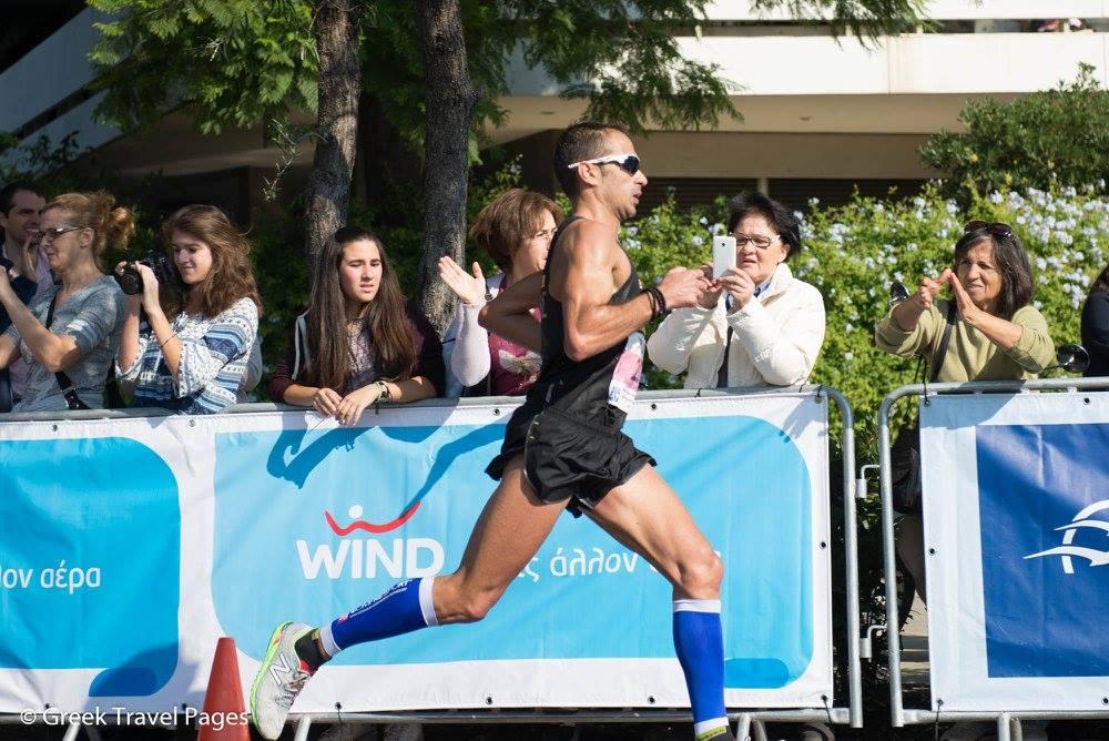 "Christoforos Merousis: Winner of 33rd ""Athens Marathon. Τhe Authentic""."