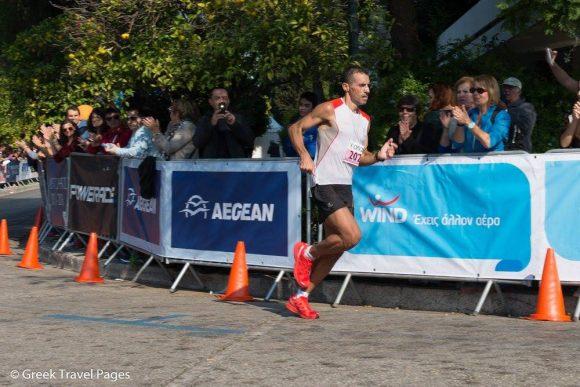 Athens Marathon, 2nd Place: Dimitris Theodorakakos.