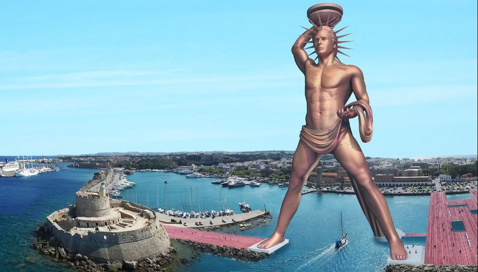 a report on the colossus of rhodes For more videos and construction details visit our website colossus of rhodes project this project originates from the ideas.