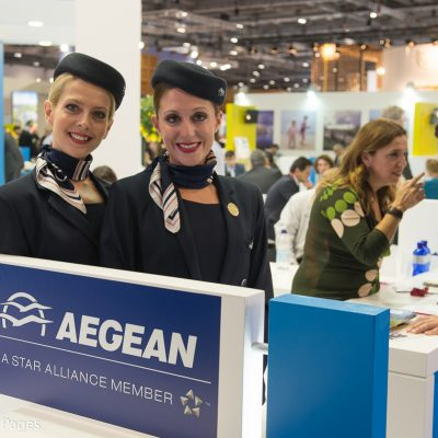 WTM London 2015 GTP Photo Report - Aegean Airlines