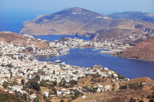 Patmos Port - Skala. Photo © Region of South Aegean