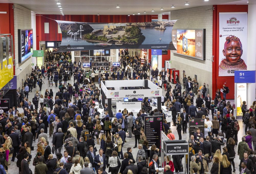 World Travel Market 2015, ExCeL, London.