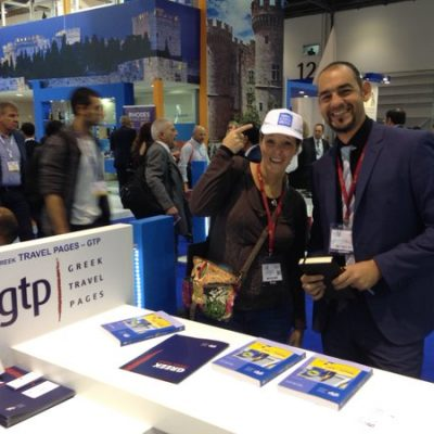 #TravelBloggersGreece @ GTP stand