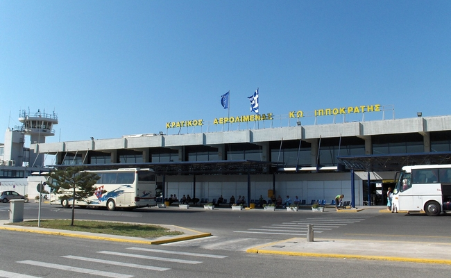 Kos Airport. Photo © Steven Fruitsmaak / Wikimedia Commons